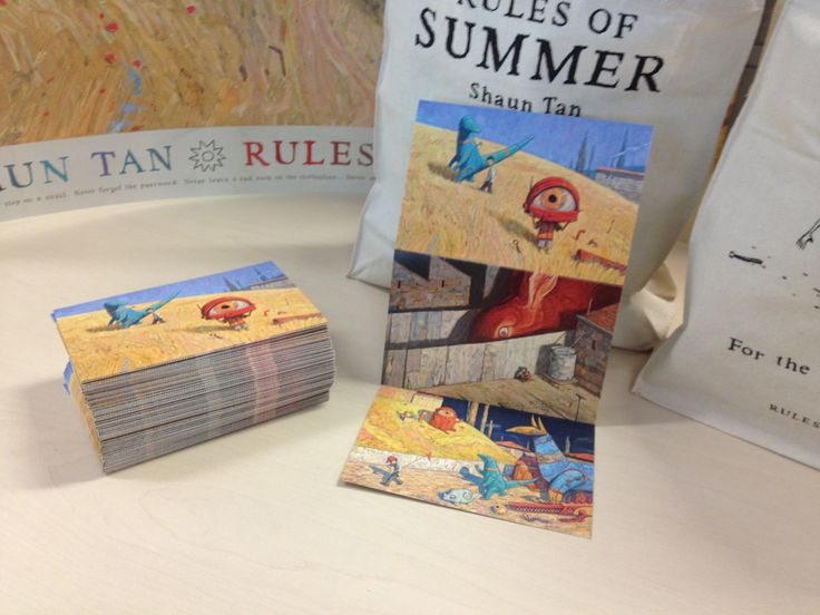 Rules of Summer 3 panel concertina postcard will be available from participating bookstores for a limited time.  These will also be available from select Avant card Free Media stands from 19th Sept too...watch out for them.