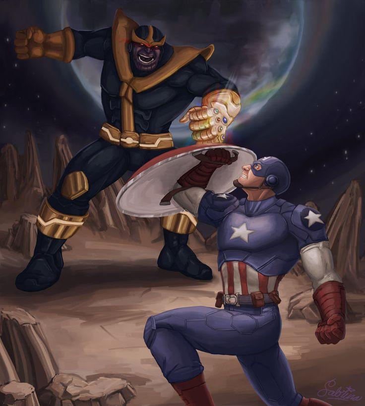 Captain America Vs Thanos Meme