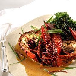 Asian lobster delight recipe