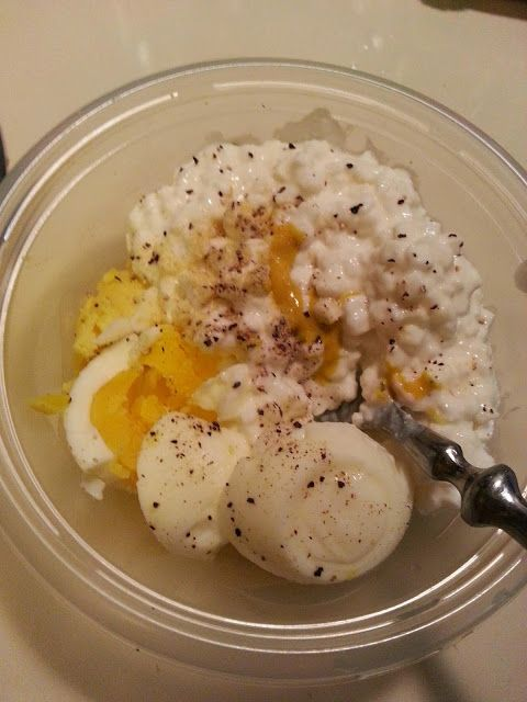 Egg Salad made with cottage cheese. No mayonnaise!
