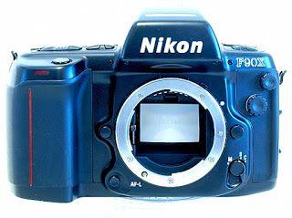 Nikon F90X (N90s), Front