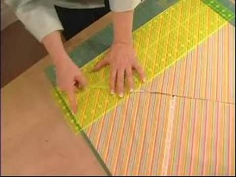 How to Make Quilts : How to Cut a Bias Binding  http://onlinequiltingclassesmembership.ning.com/