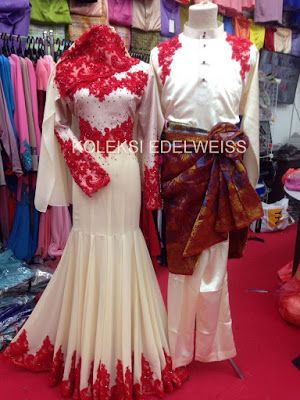 DRESS NIKAH PUTIH CREAM -BRIDAL COLLECTION 2017