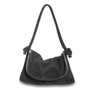 Black mini-Slouch bag