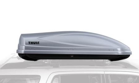 Thule cargo box kind of like a truck for car owners.