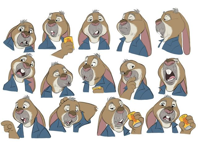 Borja Montoro Character Design: Zootopia VII He never made it to the movie. Well, in fact he did, but changed a bit before doing it.