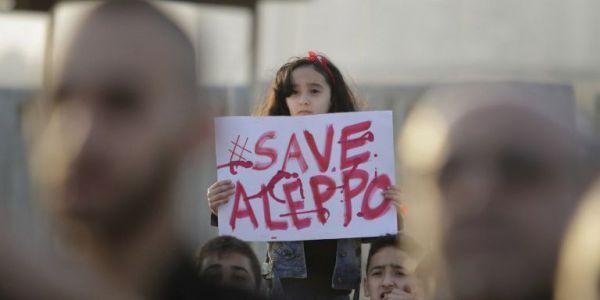 Syrie: Alep, ville martyrisée, appelle le monde à son secours