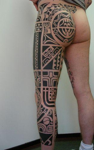 Maori perna fechada