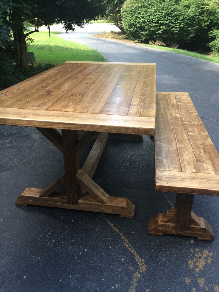 Wood Furniture, Farm House Tables - Into The Woods - Farmhouse Tables - Midlothian, Va