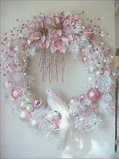 Coronas navideñas con muñecos de nieve,pinitos,estrellas ,copos de nieve y esferas de navidad