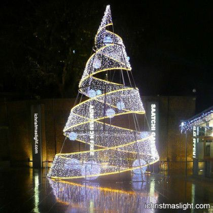 23 best modern christmas trees images on pinterest modern modern led spiral large christmas trees sciox Gallery