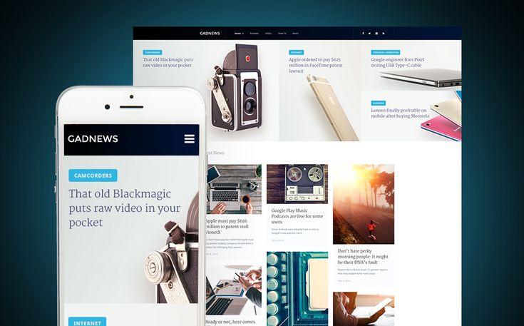 Mejores 32 imágenes de Wordpress Website Templates en Pinterest ...
