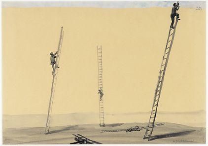Dazenie do doskonalosci 1952, Andrzej Wróblewski, Van Abbemuseum