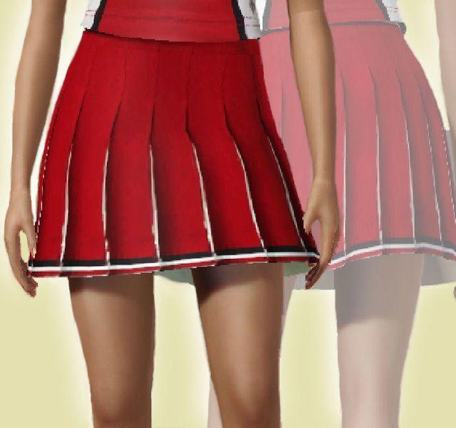 ancsie18's William McKinley High School cheerleader skirt