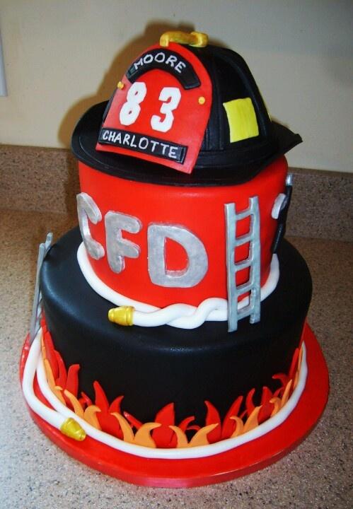 Firefighter Cake Publix