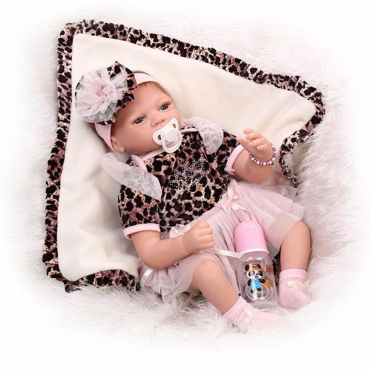 22 inch 55 cm baby reborn Silicone dolls, lifelike doll reborn babies for Children's toys Leopard princess dress fashion doll  http://playertronics.com/products/22-inch-55-cm-baby-reborn-silicone-dolls-lifelike-doll-reborn-babies-for-childrens-toys-leopard-princess-dress-fashion-doll/