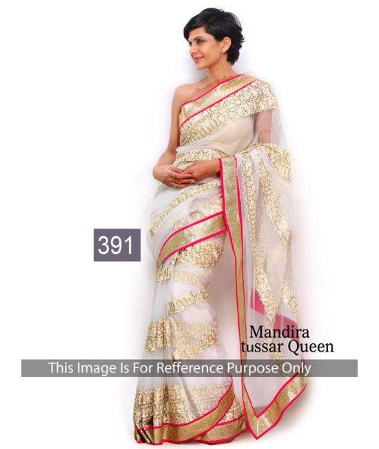 Bollywood Designer Mandira New Arrival Multi Color Saree
