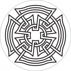 celtic maltese cross outline - Google Search                                                                                                                                                                                 More