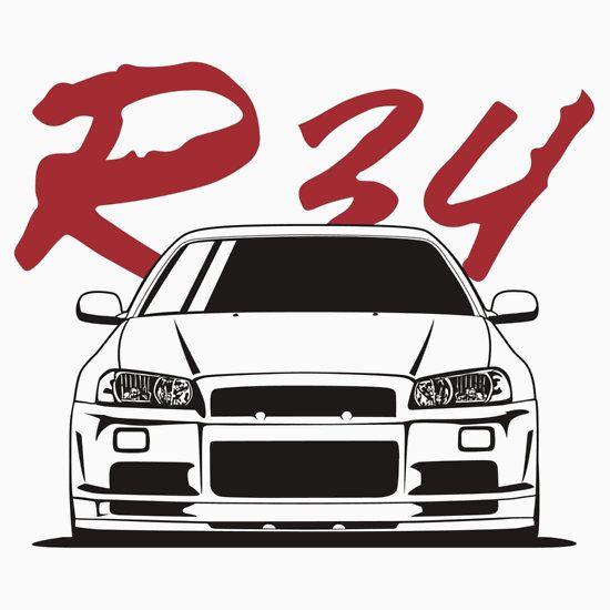 Skyline R34 GTR