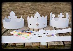 Kroon voor koningsdag knutselen | Meer ideeën: http://www.jouwwoonidee.nl/koninginnedag-knutselen/