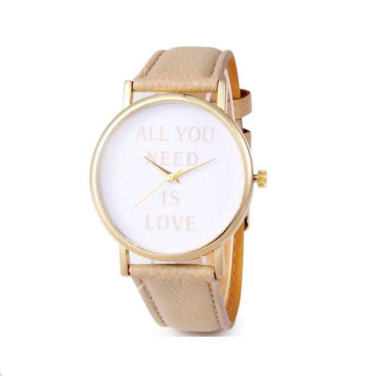 La montre tendance hiver 2016.Superbe montre, unique en son genre. Mouvement à trois aiguilles.  Un jolie montre qui sublimera vos poignets en un clin d'oeil!!!  La montre parfaite à offrir ou s'offrir!  Emballage cadeau offert!