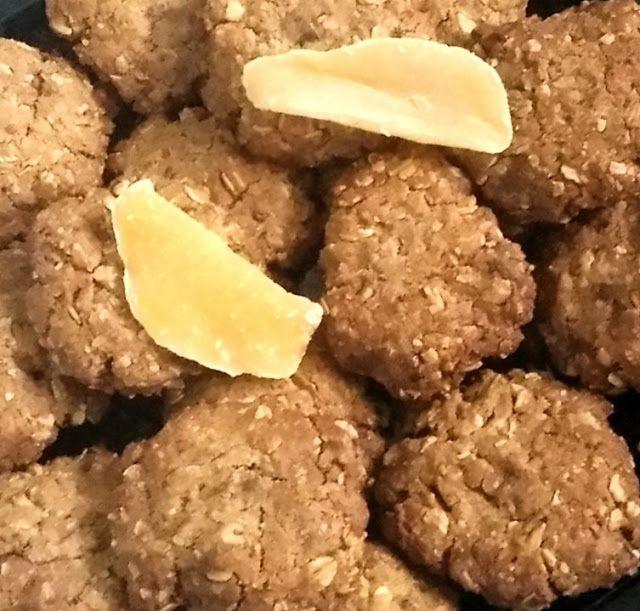 Le blog de Cata: Biscuits flocons d'avoine, chocolat et mangue séch...
