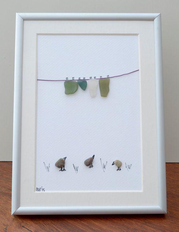 Three birds and a clothesline