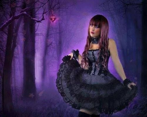 Image result for Thank You gothic woman