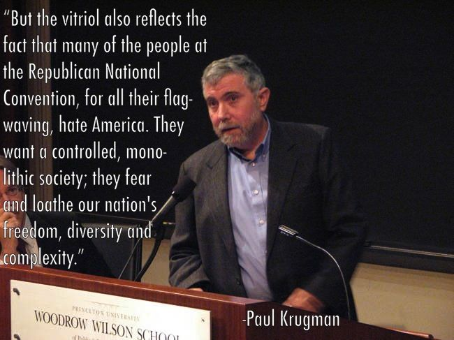 Image result for paul krugman liberal bias of facts