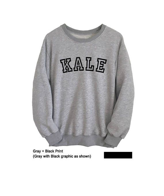 Kale Sweatshirt Tumblr Vegan Kale Shirt Mens Crewneck Jumpers #kale #kale sweatshirt #kale sweater #beyonce inspired #vegan #sweatshirts #sweatshirts for teens #funny #cute #jumpers #teen #swag #dope #party #women #men #girls #boys #casual #style #long sleeve #fashion #crewneck #jumper #school parties #brandyusa #forever 21 #awesome #winter #fall #leggings #jeans #fun #Tumble #christmas gifts #gray #fit #oversized #pullover #hoodie #unique #college #outfit #comfy