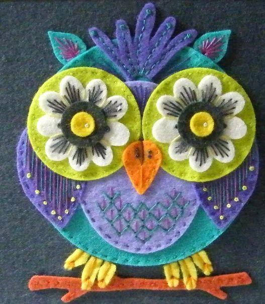 Felt owl CUTENESS                                                                                                                                                                                 More