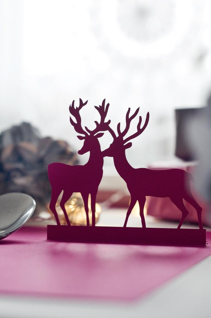 Paper placemat - deer (laser cut) - www.karcsipapir.hu