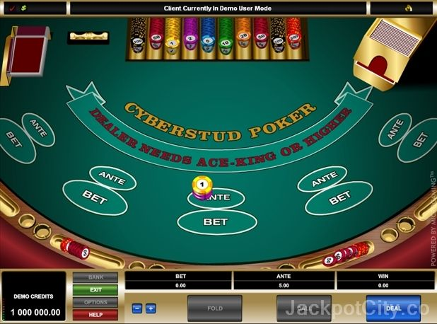 Try out 41 Poker games for free >> jackpotcity.co/free-poker.aspx