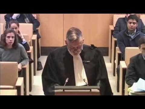 Sureau -  Avocat au conseil Plaidoirie au nom de la ligue des droits de l'homme devant le Conseil Constitutionnel contre Le délit de consultation de sites terroristes