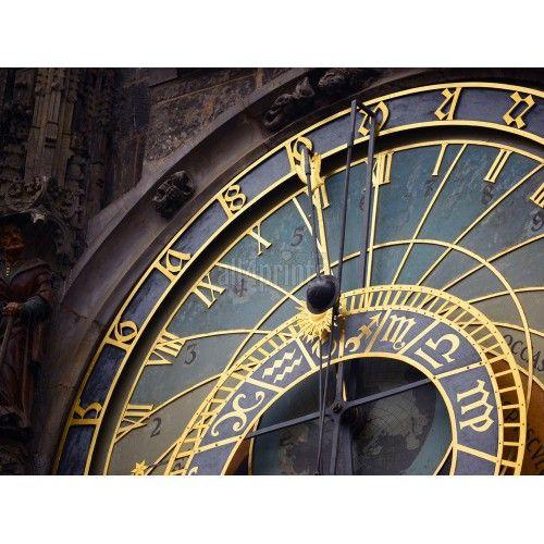 Détail de l'horloge astronomique, Prague