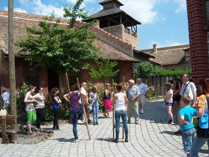 Old Town in the Theme Park Az Élménybirtok Óvárosa