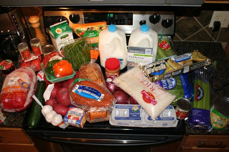 Aldi shopping list and meal plan for feeding a family of 4 on less than $50 a week
