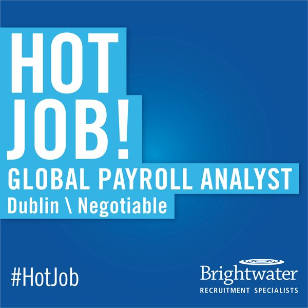 This weeku0027s #HotJob is for a Global Payroll Analyst at a rapidly - payroll analyst job description