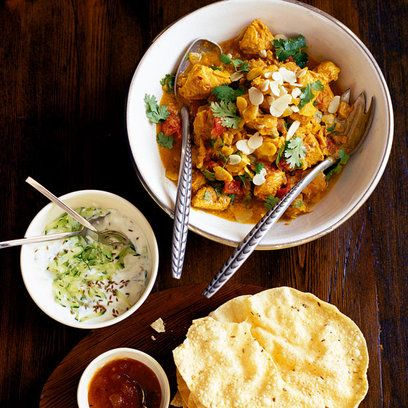 take out and stay in turkey curry.. yum yum yum!!