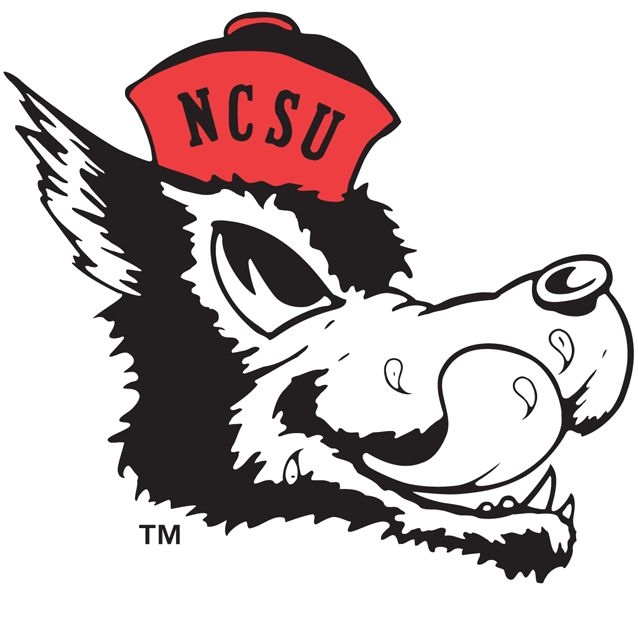 north carolina state wolfpack alternate logo on chris creamers sports logos page sportslogos a virtual museum of sports logos uniforms and historical