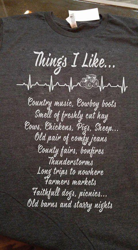 Things I like...