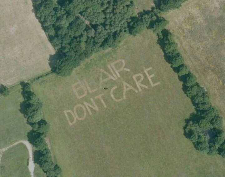 Remember, Blair don't care!