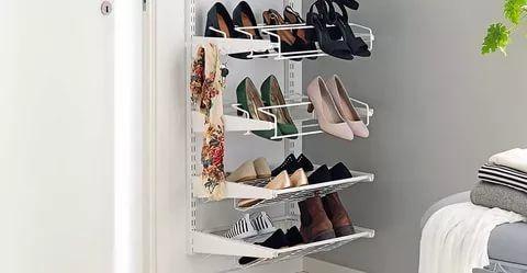 47 Awesome Shoe Rack Ideas In 2020 Concepts For Storing Your Shoes Garage Shoe Rack Shoe Rack Closet Shoe Rack Organization