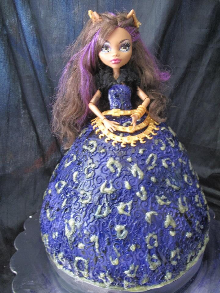 Monster High Cake Claudine Wolf By For Heavens Cake In