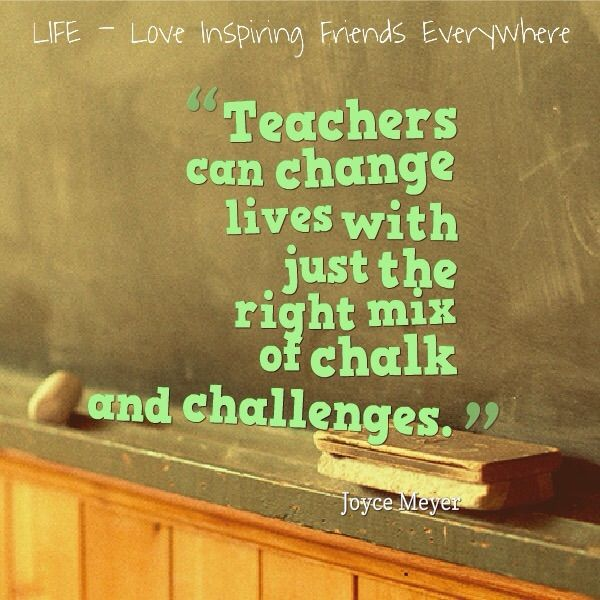 Teachers are very important people in our lives
