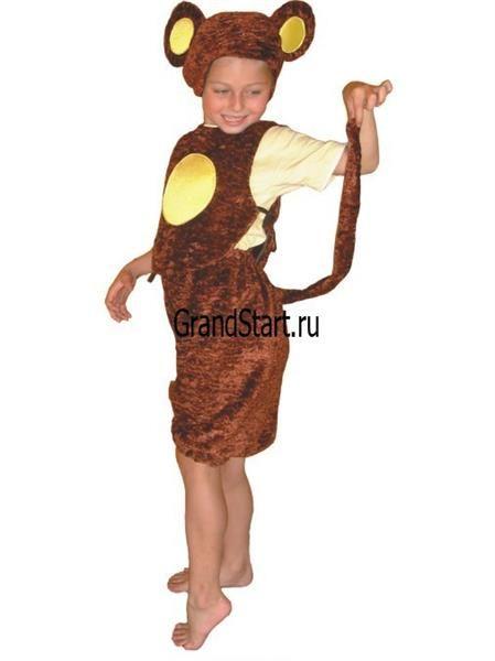Как пошить карнавальный костюм обезьянки