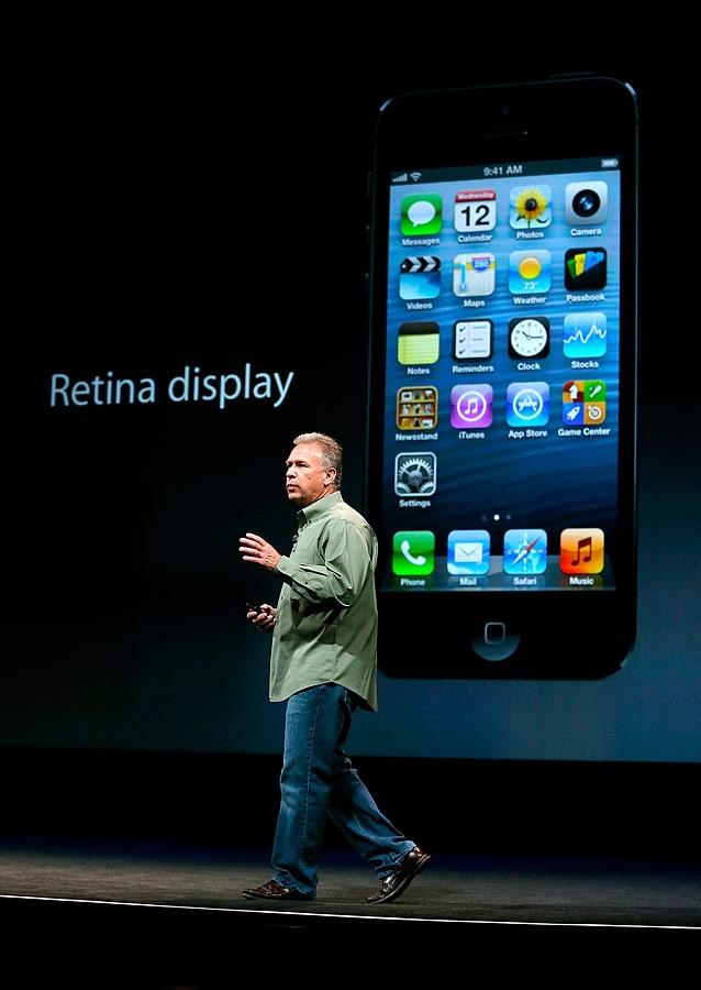El iPhone 5 utiliza tres micrófonos.