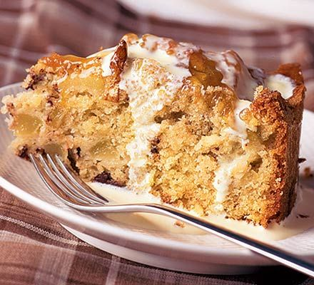Pear, hazelnut and chocolate cake (Can substitute almonds for hazelnut ...