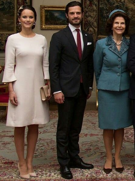 On February 20, 2017, King Carl Gustaf, Queen Silvia, Prince Carl Philip, Princess Sofia, Princess Madeleine and Christopher O'Neill attend the official welcoming ceremony for the Governor General of Canada David Johnston and his wife Sharon Johnston at the Royal Palace in Stockholm, Sweden. David Johnston's four-day State Visit will encompass Stockholm, Malmoe, Lund and Gothenburg.