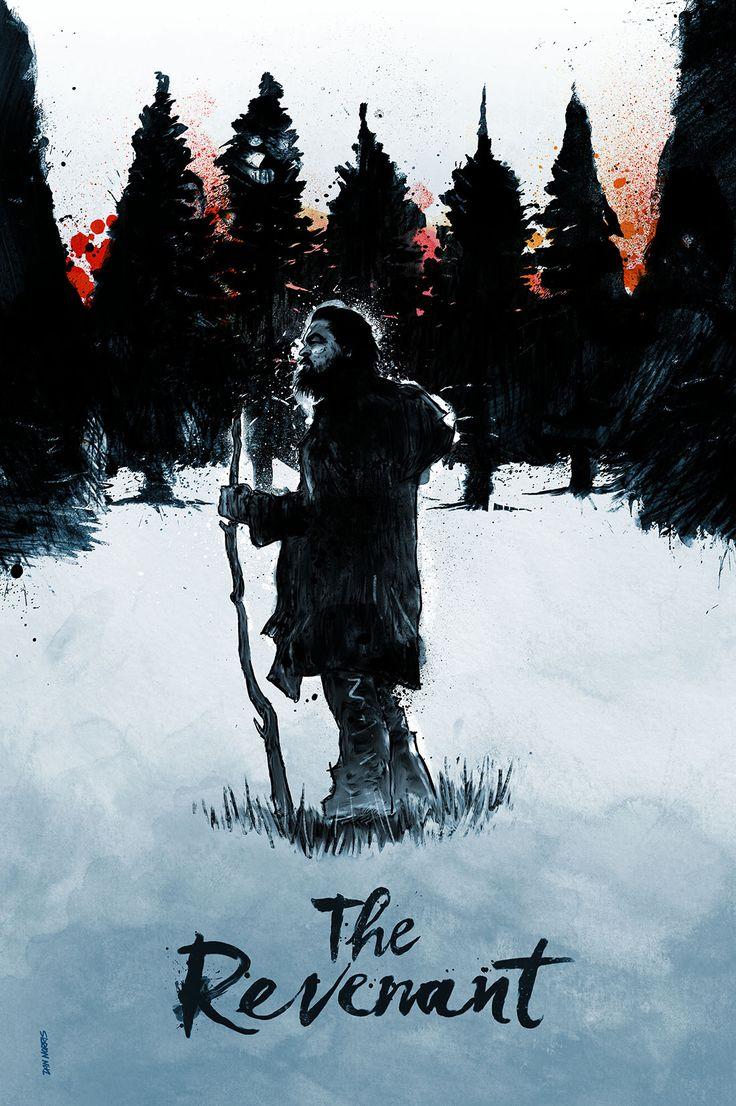The Revenant | #movieposter #design #graphic